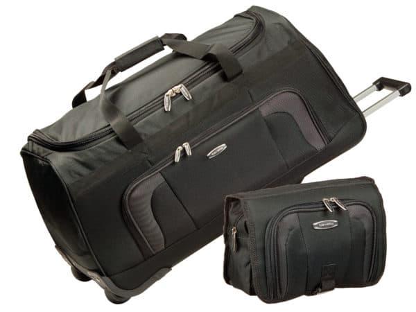 Reisetaschen-Set Orlando, 2-tlg., schwarz 2