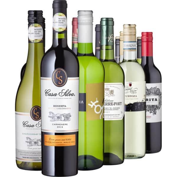 Weinreise – 12 Weine aus 6 Ländern