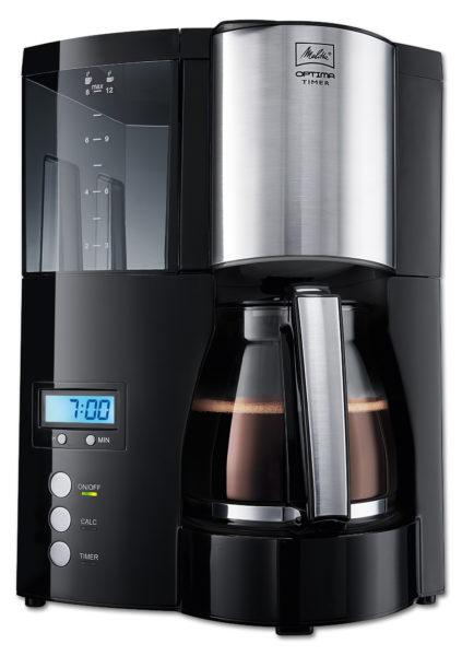 """Kaffeemaschine mit Timer """"Optima Timer"""", silber/schwarz 2"""