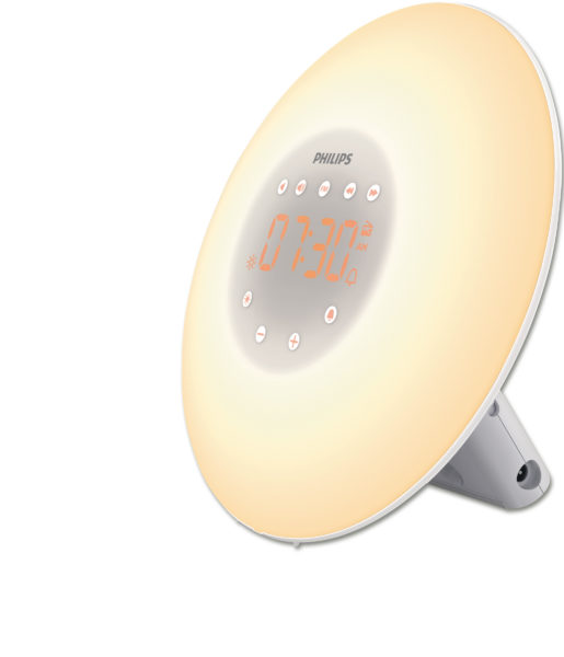 Lichtwecker  Wake-up Light HF350, weiß
