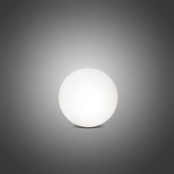 Außen- und Innenleuchte Shining Globe, Ø30 cm, weiß