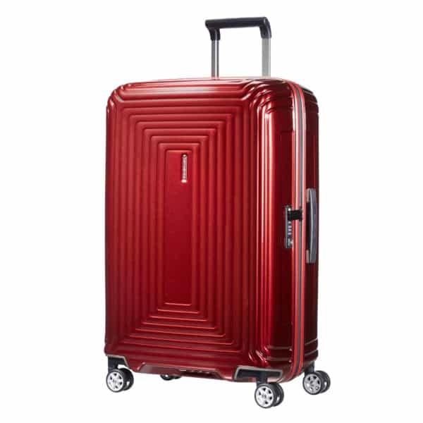 4-Rollen-Trolley Neopulse Spinner 69 cm, metallic red 2