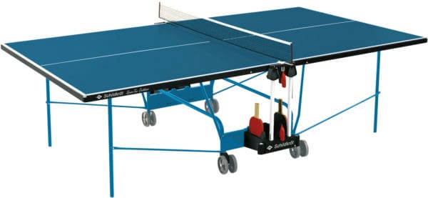"Tischtennisplatte ""Space-Tec Outdoor"", blau 2"