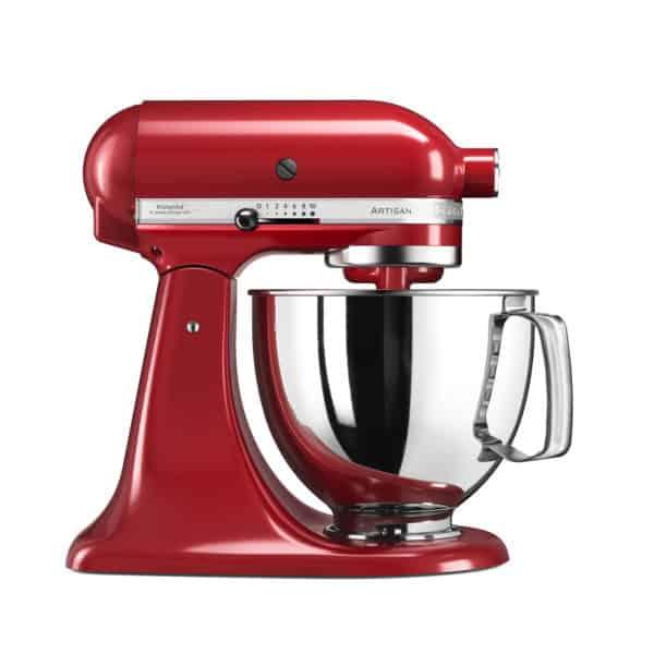 Küchenmaschine Artisan inkl. erweitertem Zubehör, rot 2