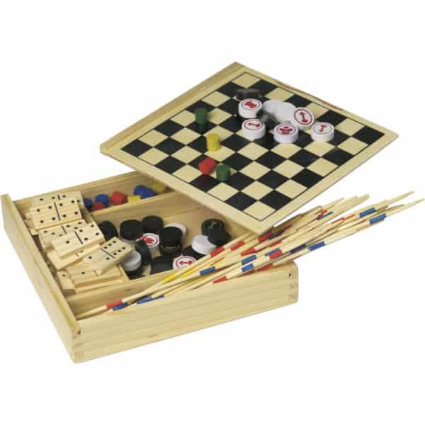 Spieleset Fun in Holzbox