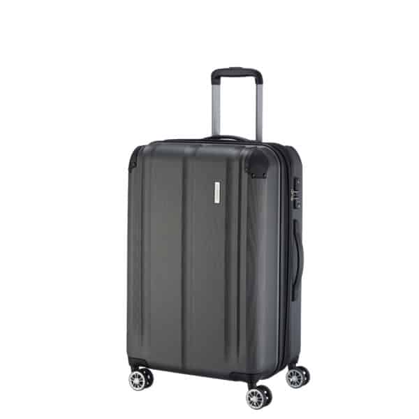 4-Rollen-Trolley City, 68 cm, anthrazit 2
