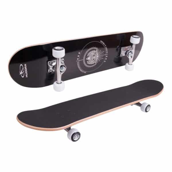 Skateboard Columbia Heights ABEC 3, schwarz