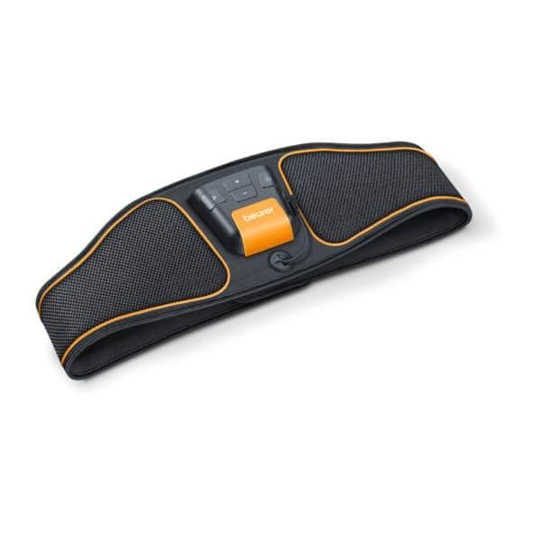Bauchmuskel-Gürtel EM 37, schwarz/orange 2