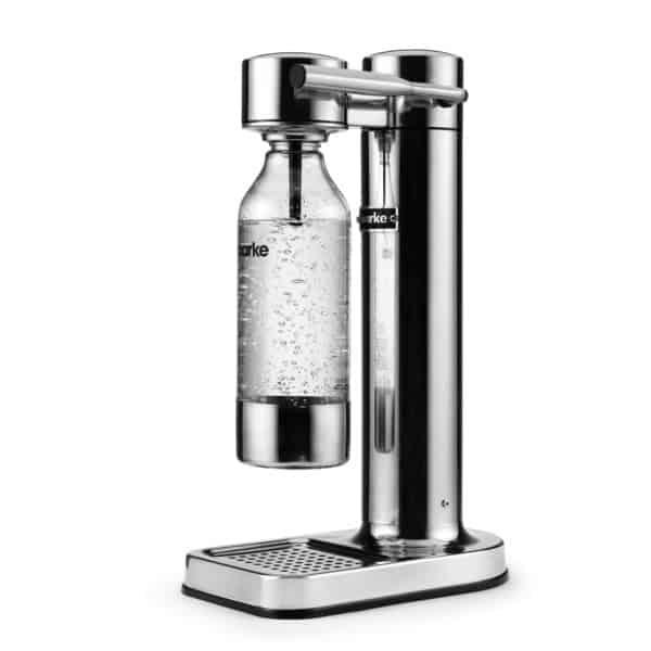 Wassersprudler, rostfreier, polierter Stahl 2