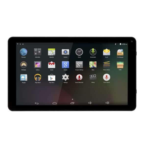 Android Tablet  Wi-Fi, 10,1 Zoll, 8 GB, TAQ-10252, schwarz