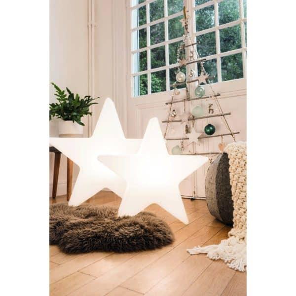 Außen- und Innenleuchte Shining Star, Ø60 cm, weiß