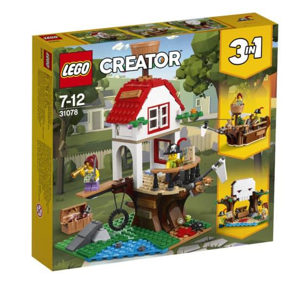 "Creator 3in1-Set ""Baumhausschätze"" 2"