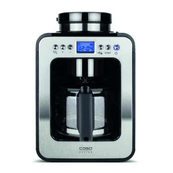Kaffeemaschine Coffee Compact electronic m. Mahlwerk, edelstahl 2