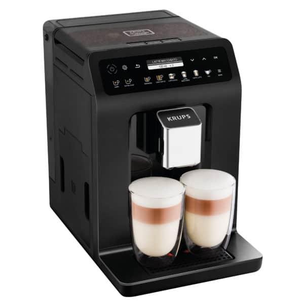 Kaffeevollautomat Doppel Cappuccino Evidence Plus EA8948, schwarz-metallic 2