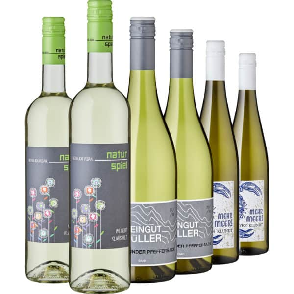 Federleichte Weißweine aus Deutschland