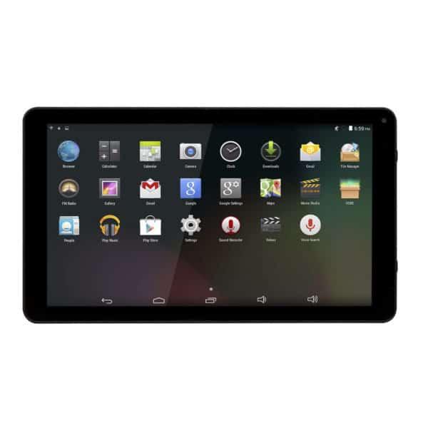Android Tablet  Wi-Fi, 10,1 Zoll, 16 GB, TAQ-10283, schwarz 2