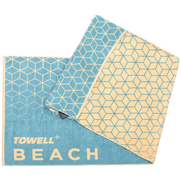 Strandtuch Towell+ Beach Aqua Blue 2