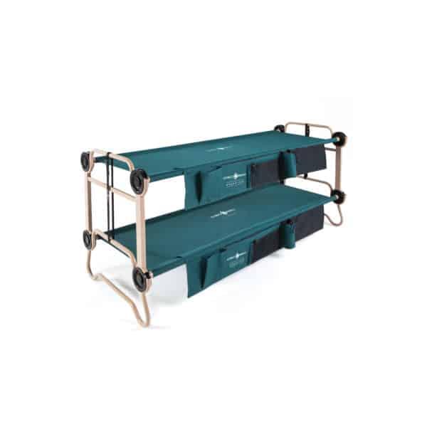 Disc-O-Bed L Etagenbett mit Seitentaschen (2-er Set)