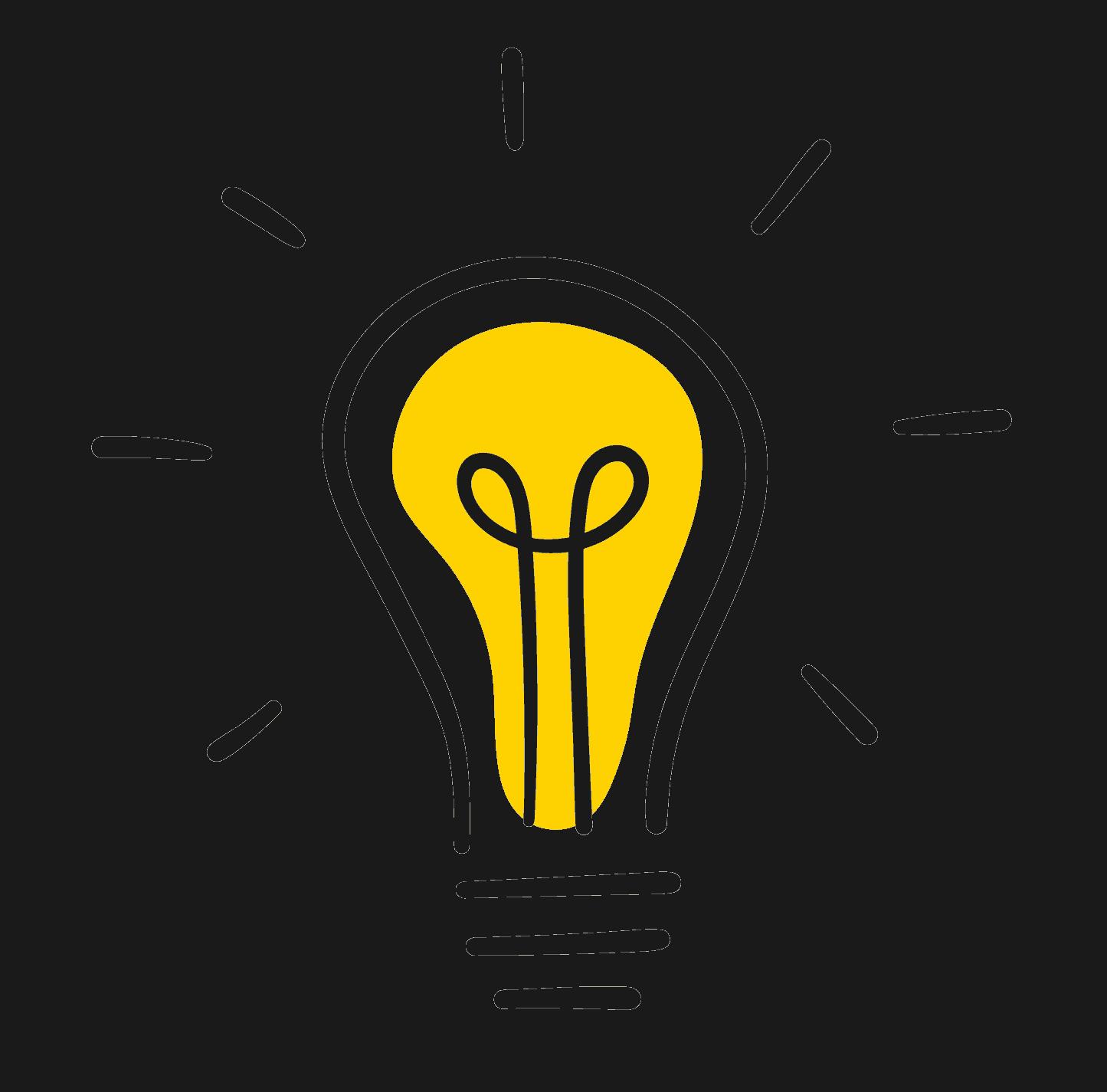 Eine Glühbirne, die die Lösungen für die Kundenbindung symbolisieren soll.